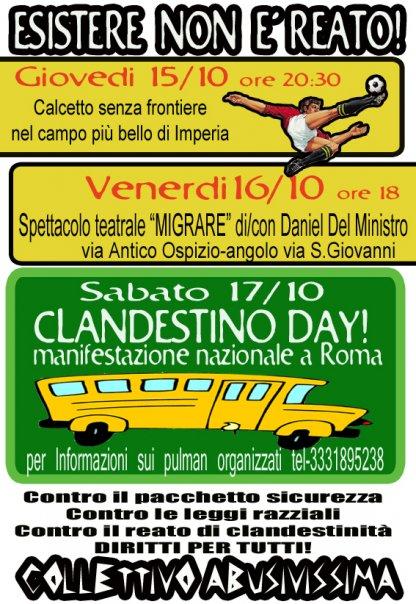 Clandestino Day