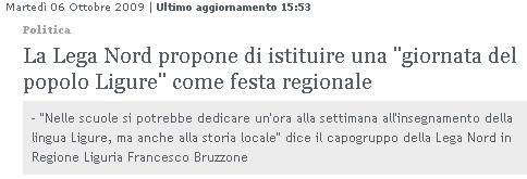 Ligurian Proud
